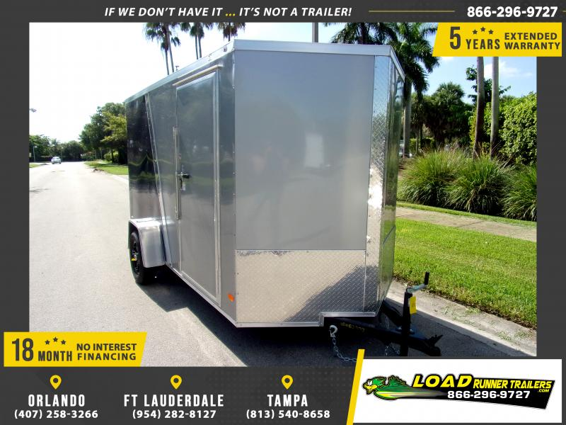 *110354* 6x12 Enclosed Cargo Trailer  LRT Haulers & Trailers 6 x 12