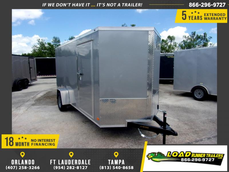 *109893* 6x14 Enclosed Cargo Trailer |LRT Haulers & Trailers 6 x 14