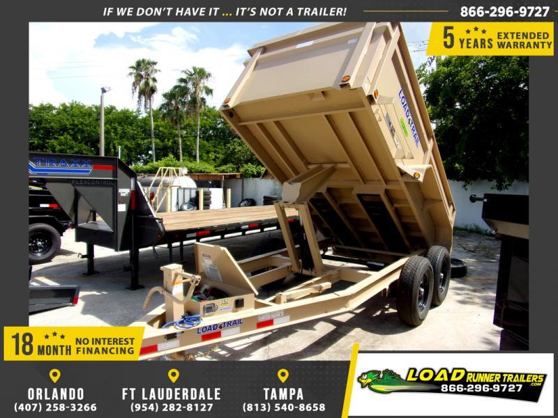 *110267* 6x12 5 TON  Load Trail Dump Trailer |LRT Trailers 6 x 12