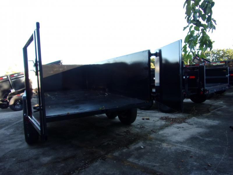 *112477* 6x12 Dump Trailer |LRT Haulers & Trailers 6 x 12