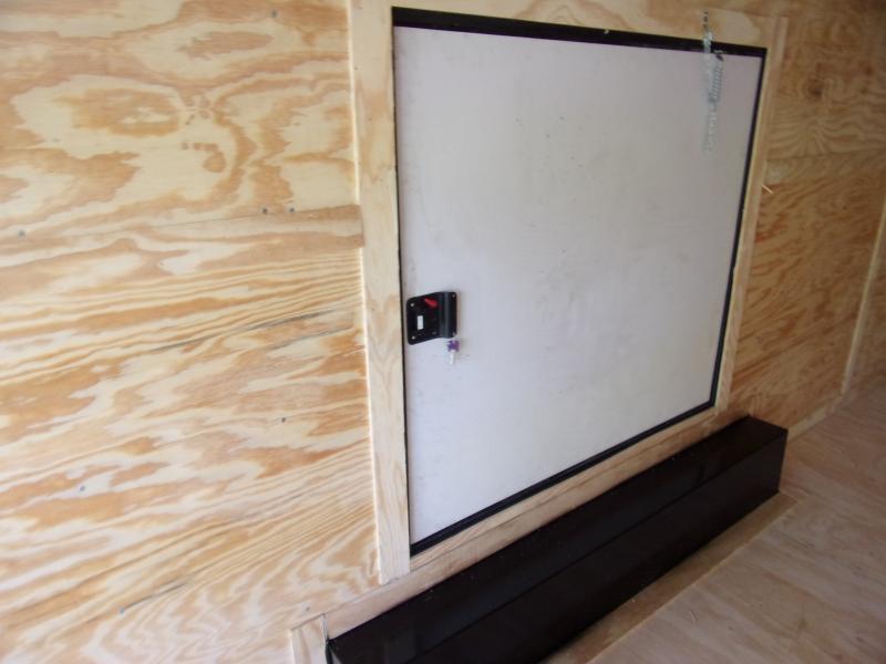 *113745* 8.5x24 Enclosed Cargo Trailer |LRT Tandem Axle Trailers 8.5 x 24