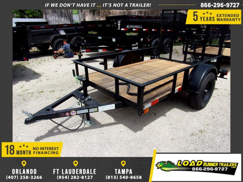 *U30* 5x8 Utility|Lawn|ATV|Multipurpose Trailer |LRT Haulers & Trailers 5 x 8 | U60-8S3-AR