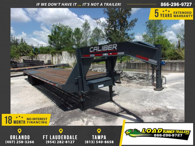 *115058* 8.5x36 Gooseneck Flatbed Deck Over Trailer |LRT Haulers & Trailers 8.5 x 36