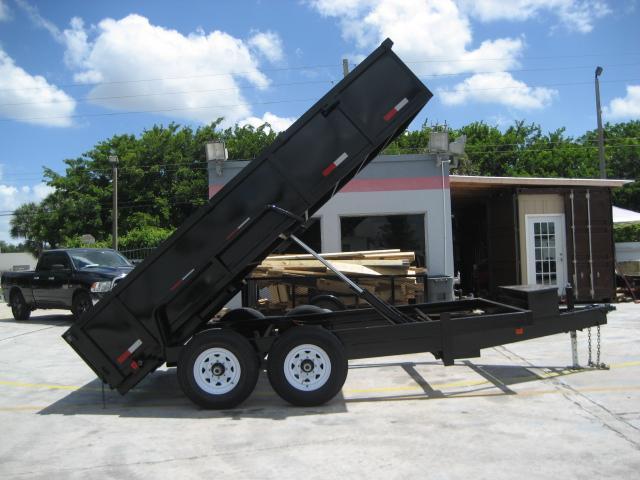 *DB55C* 7x14 7k Twin Piston DUMP TRAILER Dumps & TRAILERS 7 x 14 | D82-14T7-24S