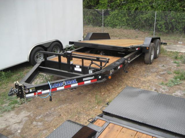 *T20* 7x16+4 Gravity Tilt Equipment Hauler Trailer 7 TON Trailers 7 x 16+4 | T83-16+4T7T-GT