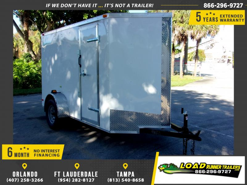 *112964* 5x10 Enclosed Cargo Trailer |LRT Haulers & Trailers 5 x 10