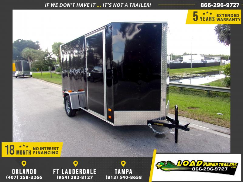 *117941* 6x12 Enclosed Cargo Trailer |LRT Haulers & Trailers 6 x 12