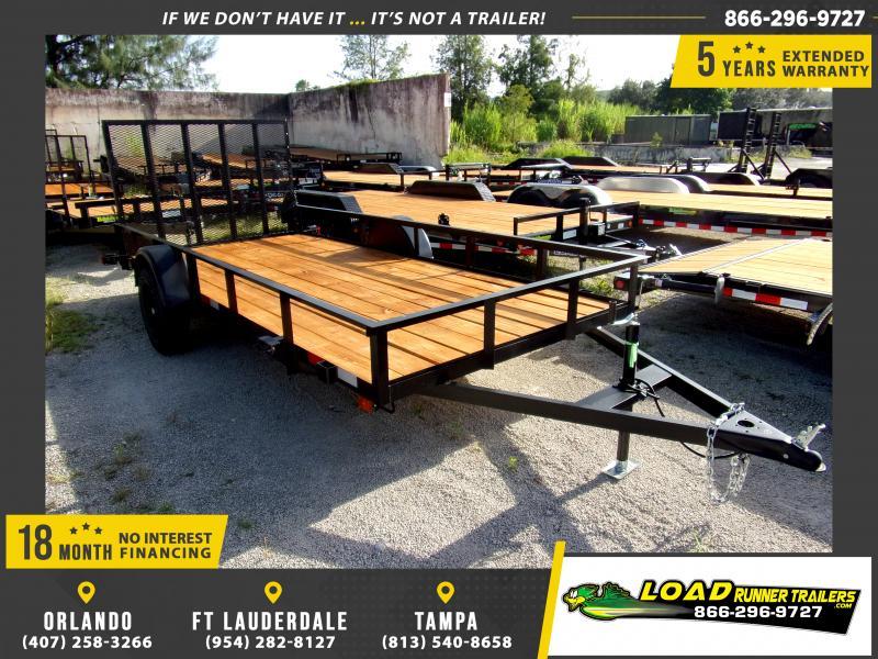*110977* 6x14 Utility|Lawn|ATV|Multipurpose Trailer |LRT Haulers & Trailers 6 x 14