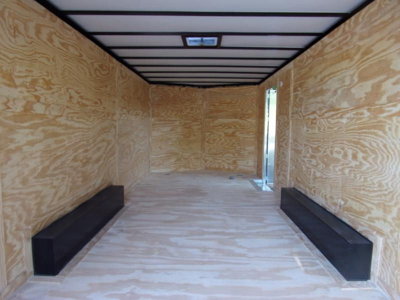 *117390* 8.5x20 Enclosed Cargo Trailer |LRT Tandem Axle Trailers 8.5 x 20