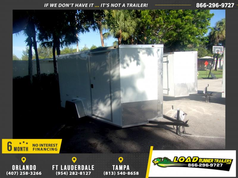 *116609* 6x10 Enclosed Cargo Trailer |LRT Haulers & Trailers 6 x 10