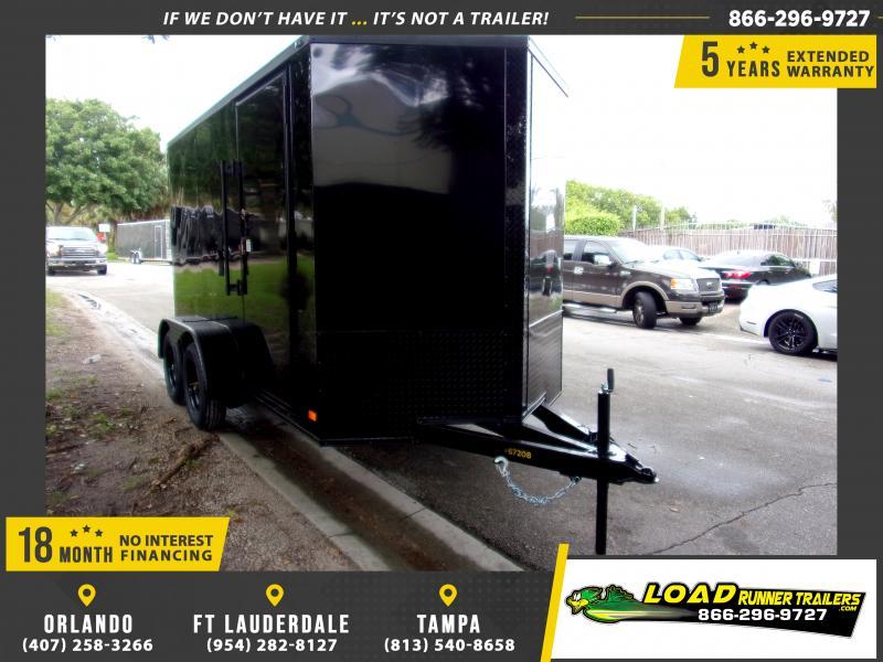 *114424* 6x12 Enclosed Cargo Trailer |LRT Tandem Axle Trailers 6 x 12