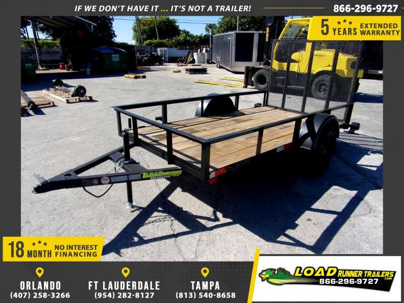 *113307* 5x10 Utility|Lawn|ATV|Multipurpose Trailer |LRT Haulers & Trailers 5 x 10