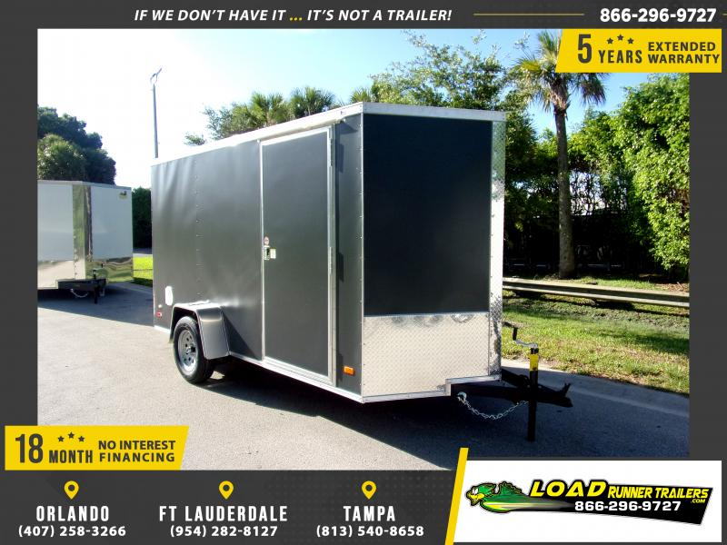 *115811* 6x12 Enclosed Cargo Trailer |LRT Haulers & Trailers 6 x 12