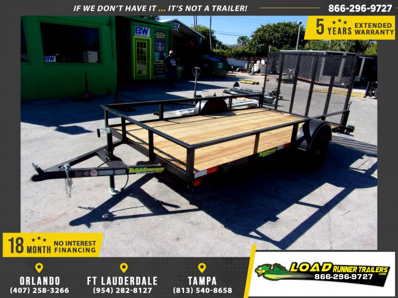 *112597* 6x12 Utility Lawn ATV Multipurpose Trailer  LRT Haulers & Trailers 6 x 12
