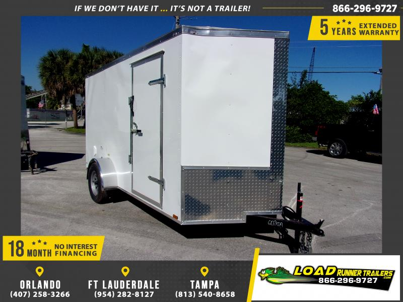 *112666* 6x12 Enclosed Cargo Trailer |LRT Haulers & Trailers 6 x 12