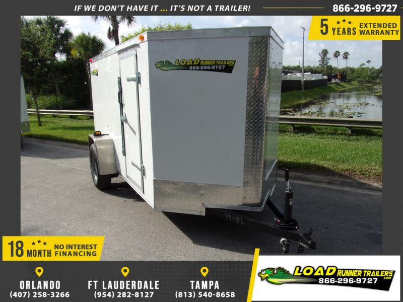 *110330* 5x10 Enclosed Cargo Trailer |LRT Haulers & Trailers 5 x 10