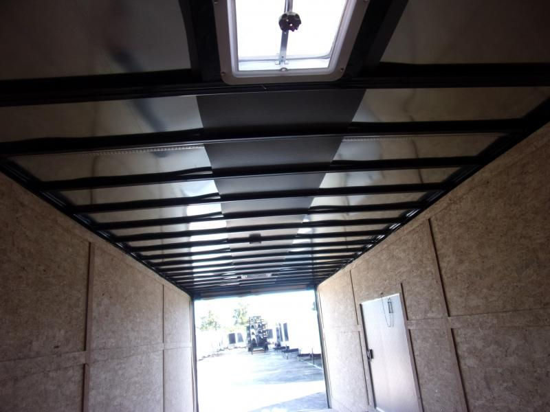 *117348* 8.5x28 Enclosed Cargo Trailer |LRT Tandem Axle Trailers 8.5 x 28