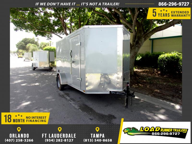*111248* 6x12 Enclosed Cargo Trailer |LRT Haulers & Trailers 6 x 12