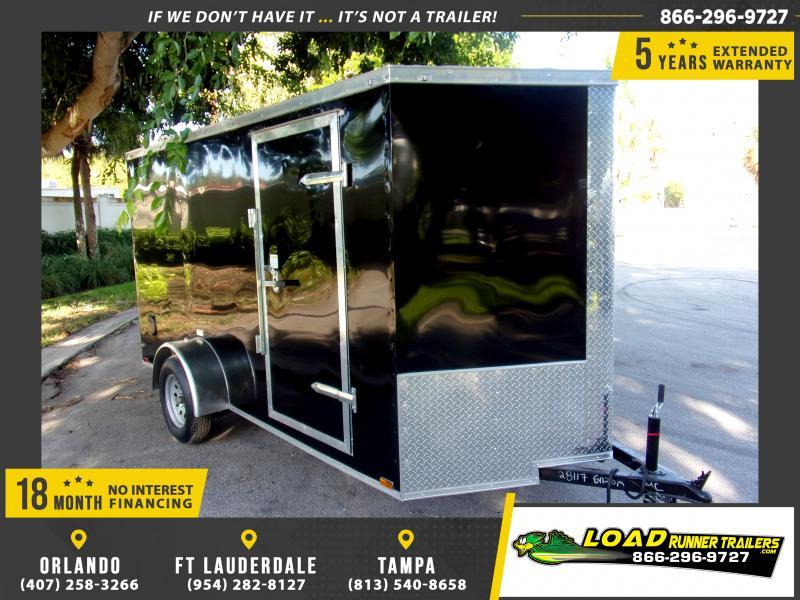 *118012* 6x12 Enclosed Cargo Trailer  LRT Haulers & Trailers 6 x 12