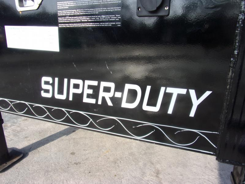 *116815* 8.5x20 HEAVY DUTY DUMP TRAILER   LRT Gooseneck Trailers 8.5 x 20