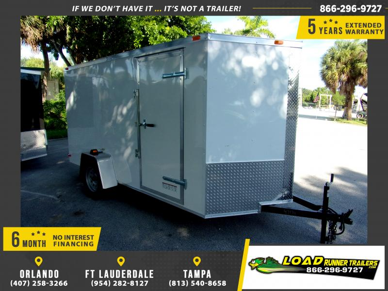 *111599* 6x12 Enclosed Cargo Trailer |LRT Haulers & Trailers 6 x 12