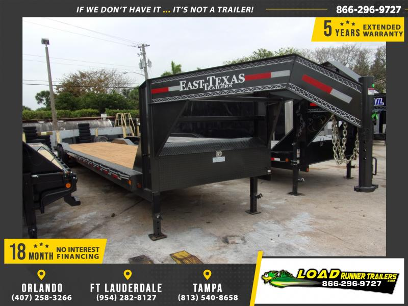 *114808* 8.5x40 Gooseneck Car Trailer |LRT Haulers & Trailers 8.5 x 40