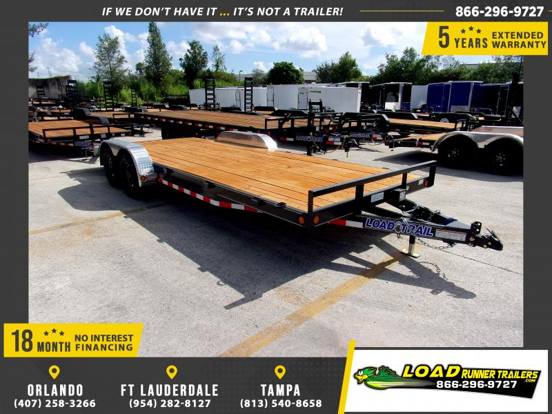 *110648* 7x20 Car Trailer |LRT Tandem Axle Trailers 7 x 20