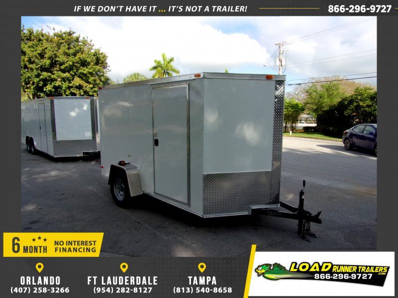 *116567* 6x10 Enclosed Cargo Trailer |LRT Haulers & Trailers 6 x 10