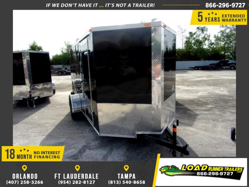 *110049* 6x12 Enclosed Cargo Trailer |LRT Haulers & Trailers 6 x 12