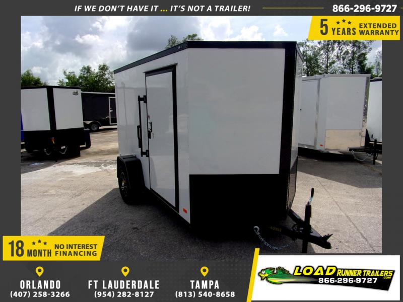 *110295* 6x10 Enclosed Cargo Trailer |LRT Haulers & Trailers 6 x 10