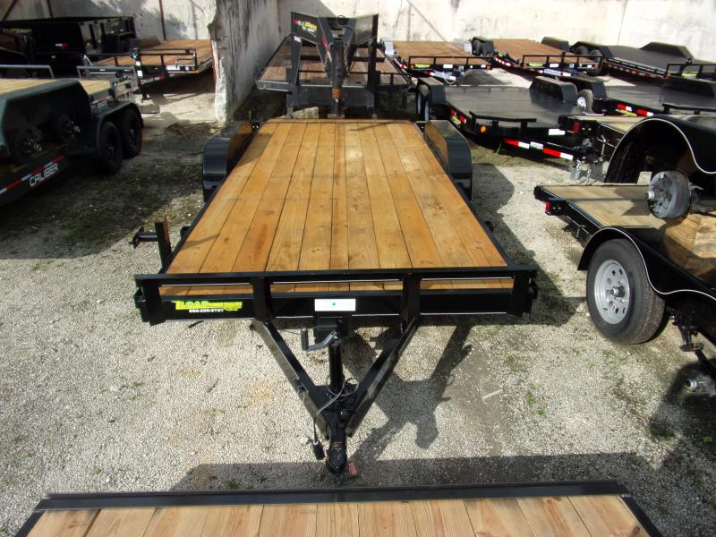 *112252* 7x18 Car Trailer |LRT Tandem Axle Trailers 7 x 18