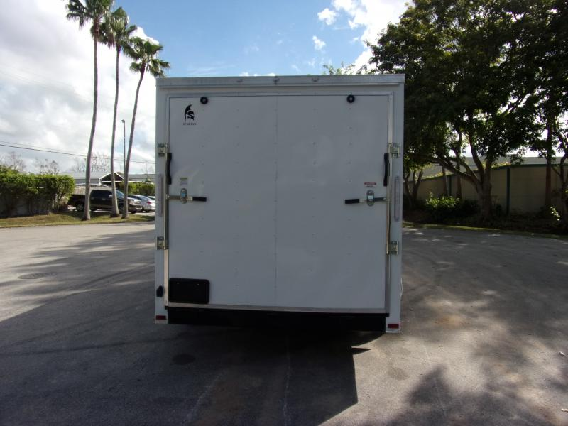*113700* 7x16 Enclosed Cargo Trailer |LRT Tandem Axle Trailers 7 x 16