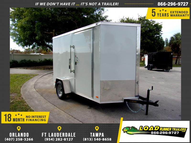 *113140* 6x10 Enclosed Cargo Trailer |LRT Haulers & Trailers 6 x 10