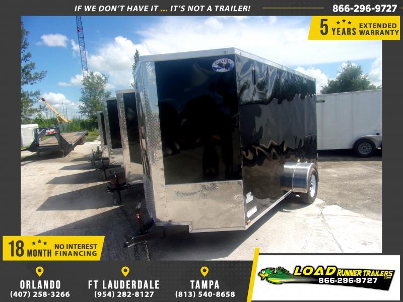 *116911* 6x12 Enclosed Cargo Trailer |LRT Haulers & Trailers 6 x 12