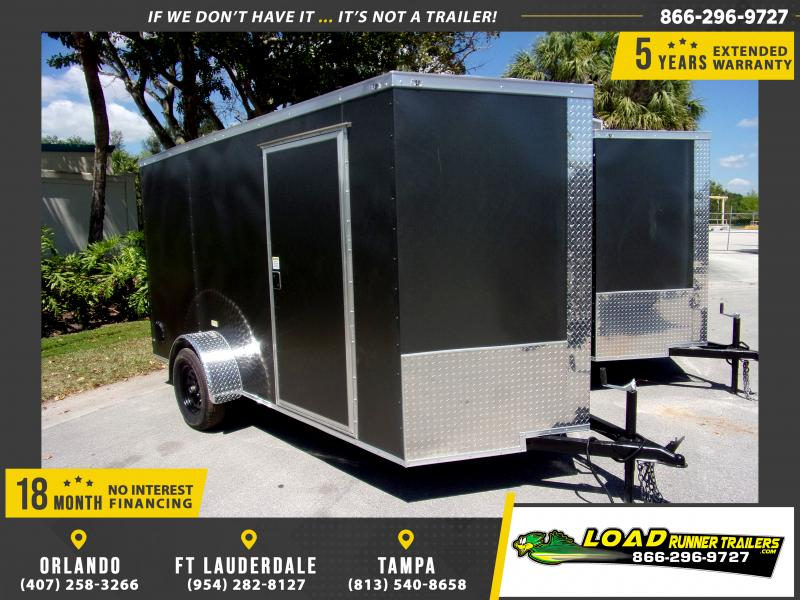 *114660* 6x12 Enclosed Cargo Trailer |LRT Haulers & Trailers 6 x 12