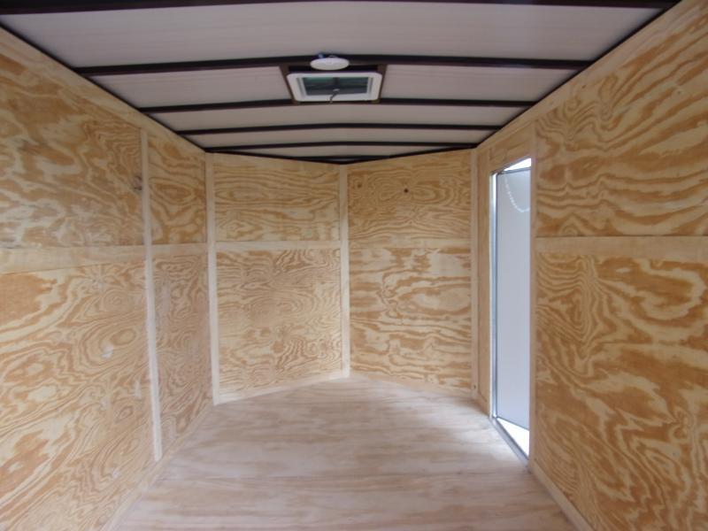 *115020* 7x12 Enclosed Cargo Trailer  LRT Haulers & Trailers 7 x 12