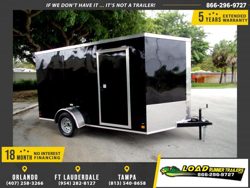 *115020* 7x12 Enclosed Cargo Trailer |LRT Haulers & Trailers 7 x 12