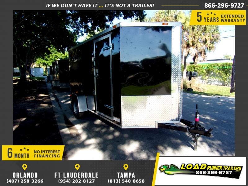 *111820* 6x12 Enclosed Cargo Trailer |LRT Haulers & Trailers 6 x 12