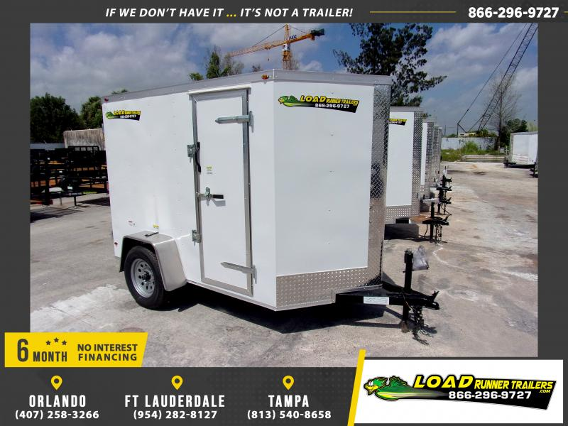 *114259* 5x8 Enclosed Cargo Trailer  LRT Haulers & Trailers 5 x 8