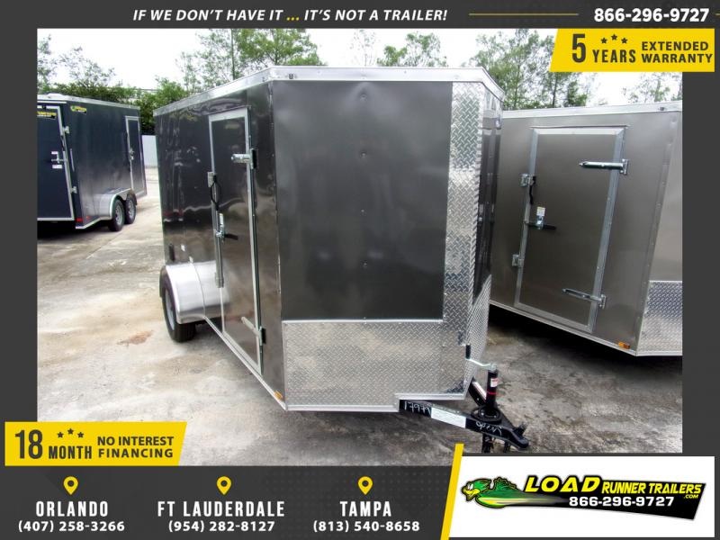*109783* 6x12 Enclosed Cargo Trailer |LRT Haulers & Trailers 6 x 12
