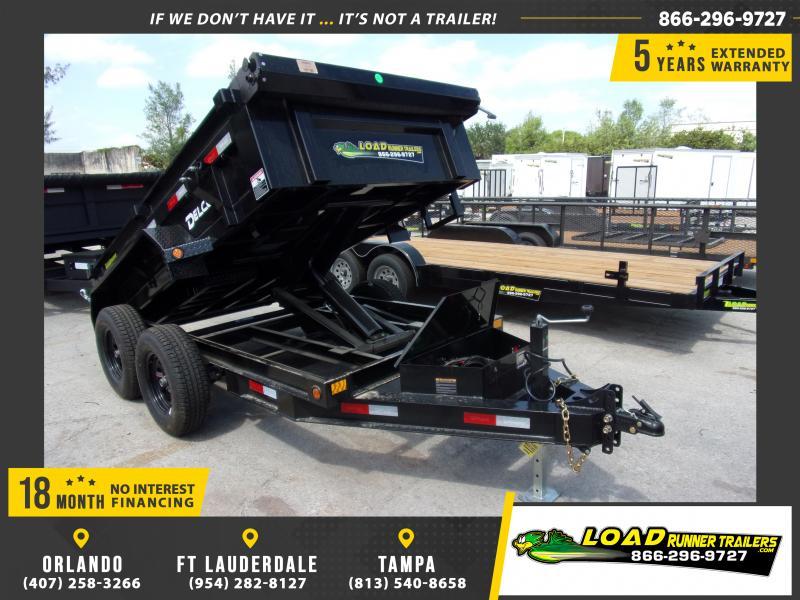 *114761* 5x10 Dump Trailer  LRT Tandem Axle Trailers 5 x 10