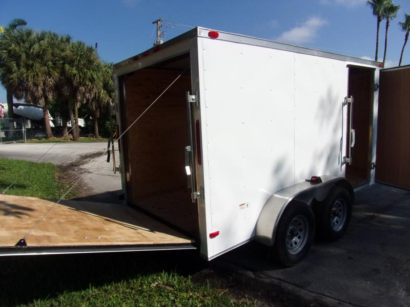 *112352* 6x12 Enclosed Cargo Trailer |LRT Tandem Axle Trailers 6 x 12