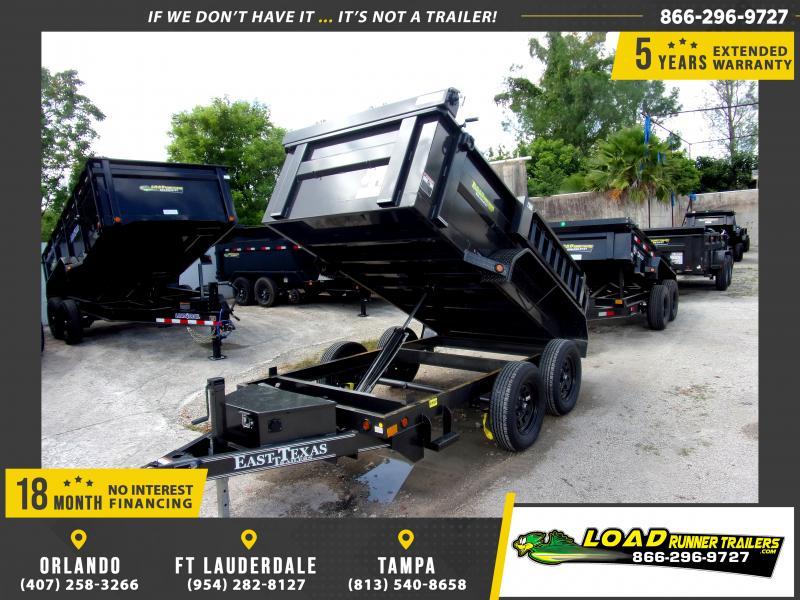 *114978* 5x10 Dump Trailer |LRT Tandem Axle Trailers 5 x 10