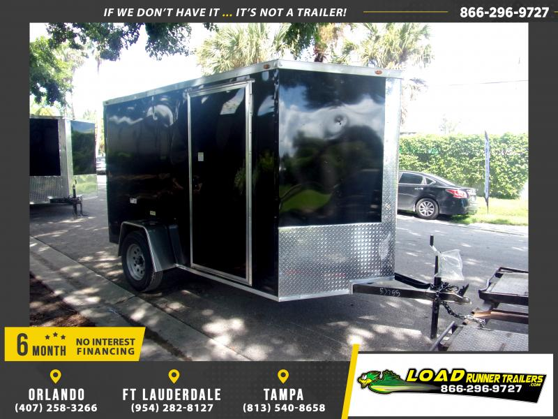*117618* 6x10 Enclosed Cargo Trailer |LRT Haulers & Trailers 6 x 10