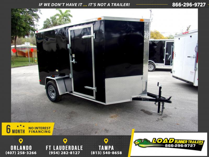 *113805* 6x10 Enclosed Cargo Trailer |LRT Haulers & Trailers 6 x 10