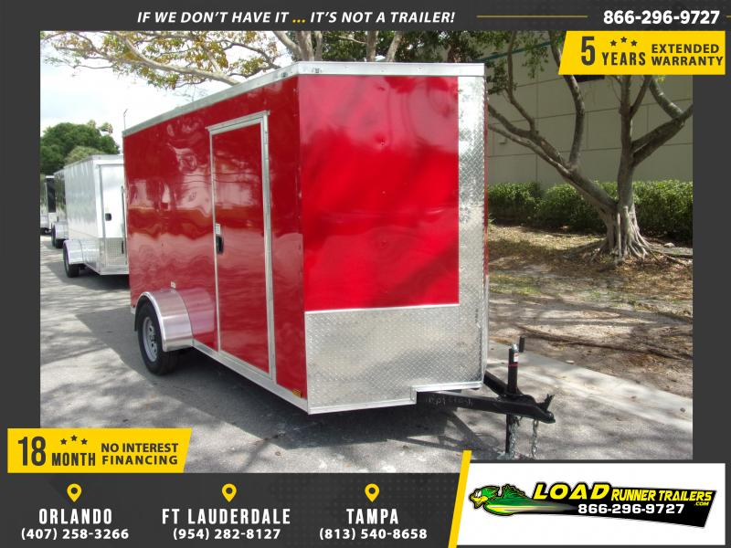 *114885* 6x12 Enclosed Cargo Trailer |LRT Haulers & Trailers 6 x 12