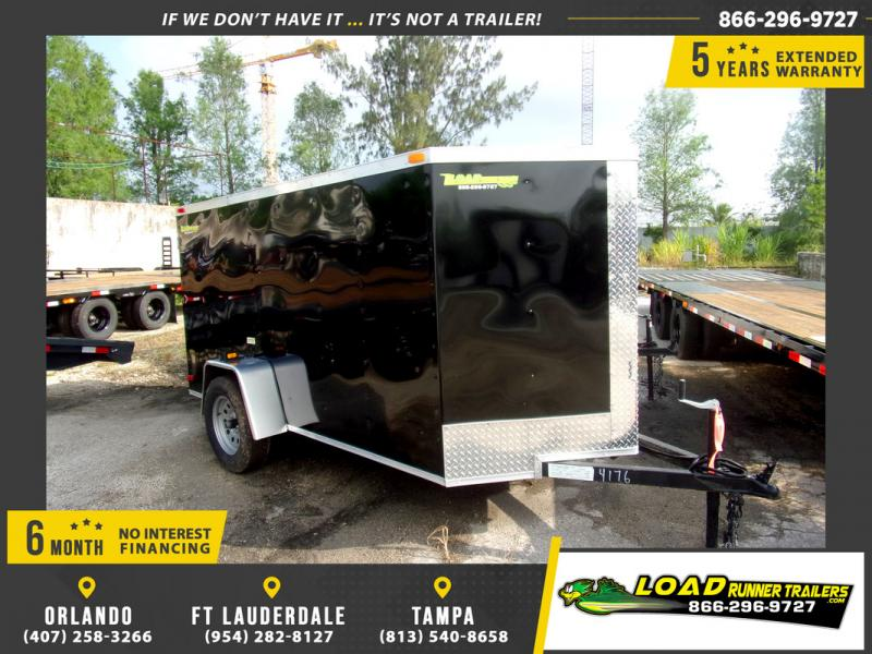 *109453* 5x10 Enclosed Cargo Trailer |LRT Haulers & Trailers 5 x 10