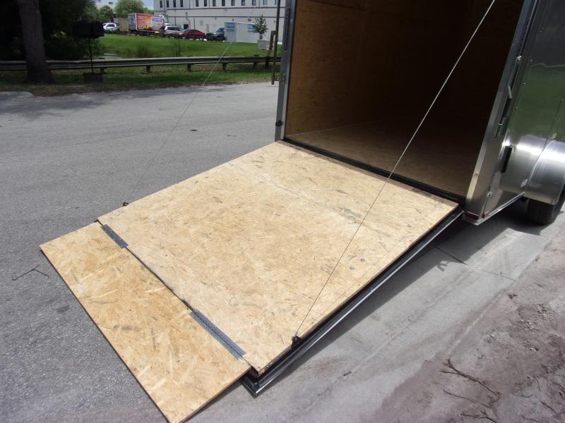 *116498* 7x12 Enclosed Cargo Trailer  LRT Haulers & Trailers 7 x 12
