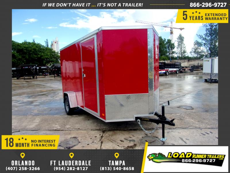 *110423* 6x12 Enclosed Cargo Trailer |LRT Haulers & Trailers 6 x 12
