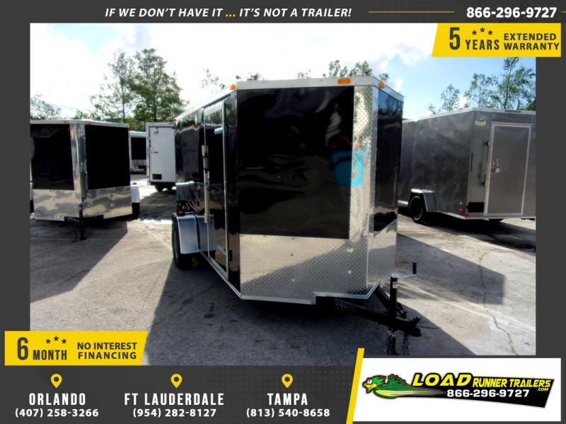 *109960* 6x12 Enclosed Cargo Trailer |LRT Haulers & Trailers 6 x 12